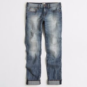 J. CREW Heath wash slim boyfriend jean